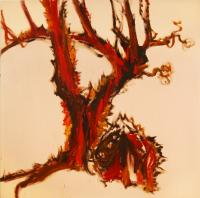 Piedra y árbol